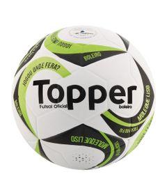 Bola-de-Futsal---Ultra-IX---Branco-Preto-e-Verde---Topper