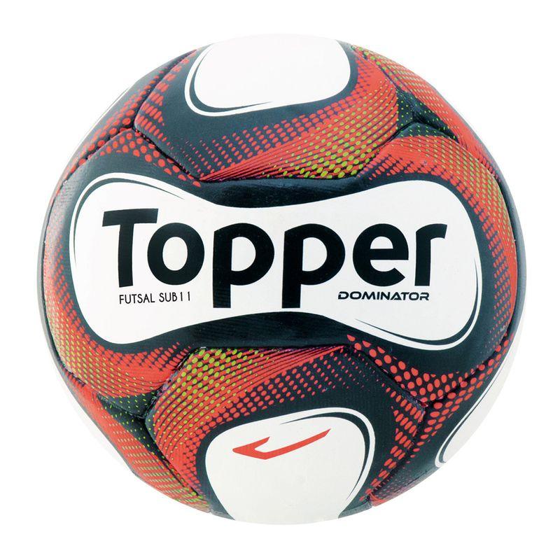 Bola de Futsal - SB 11 - Preto e Branco - Topper - PBKIDS 242b949cc9cd0