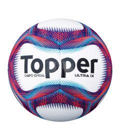Bola-de-Futebol-de-Campo---Ultra-IX---Branco-e-Vermelho---Topper