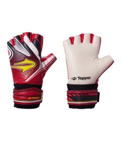 Luvas-de-Goleiro---Futsal---Tamanho-5---Vermelho-e-Preto---Topper
