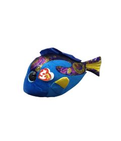 Pelucia-45-Cm---Beanie-Boos---Pelucias-Coloridas---Peixe-Azul