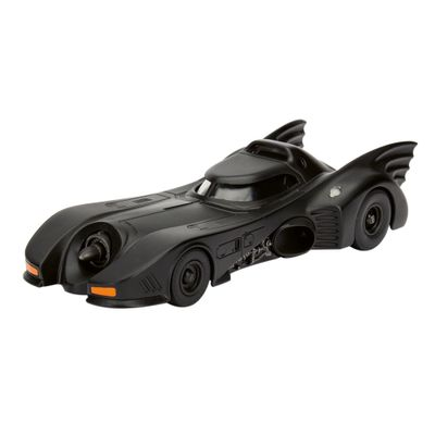 Carrinho-Die-Cast---132---Metals---DC-Comics---Batmobile---DTC---Frente