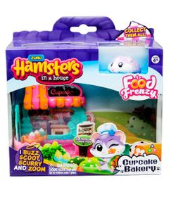 Playset-Casa-Hamster-com-Figura---Hamsters-in-a-House---Little-Cupcake-Shop---Candide_Frente