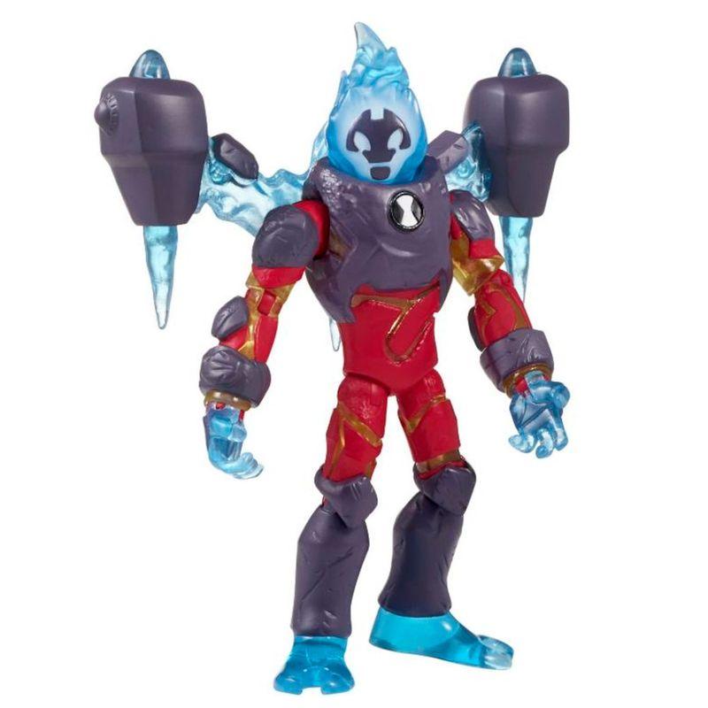 958c666817 Mini Figura Articulada 10 Cm - Ben 10 - Omni Desenvolvido - Chama - Sunny -  Ri Happy Brinquedos