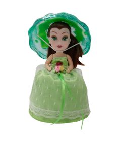 Mini-Boneca---Taca-Surpresa---Verde---New-Toys