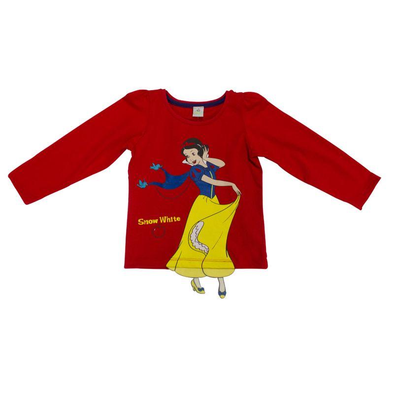 Blusa Manga Longa - Vermelha - Branca de Neve - Princesas - Disney - 1 - Ri  Happy Brinquedos 391176286cdcf