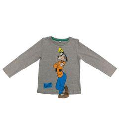 Camiseta-Manga-Longa---Cinza-Mescla---Fantasia-Pluto---Disney---1