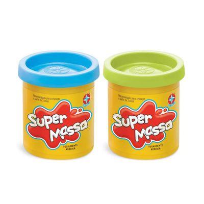 Super-Massa---2-Potes---Azul-Claro-e-Verde-Claro---Estrela
