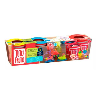 Massa-de-Modelar---Tutti-Frutti---Potinhos-Neon-com-Moldes---New-Toys