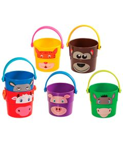 Brinquedo-de-Banho---Baldinhos-Zoo---Girotondo-Baby