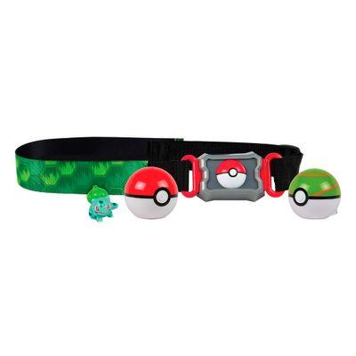 Conjunto-de-Acao---Pokemon---Cinto-Porta-Pokebolas---Sunny-