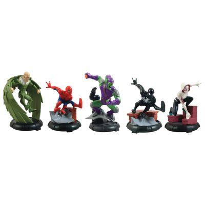 Playset-e-Figura---Domo---Disney---Marvel---Homem-Aranha---Sunny