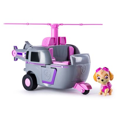 Veiculo-com-Luzes-e-Sons-e-Figura---Patrulha-Canina---Skye-s-Deluxe-Helicopter---Sunny
