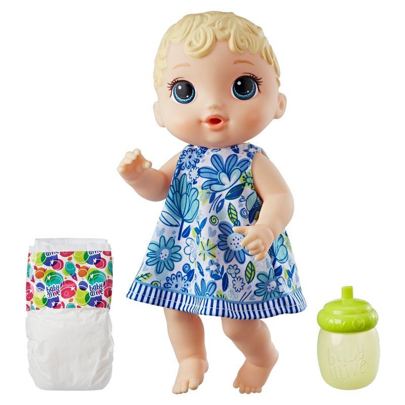 bf080542b3 Boneca Baby Alive - Hora do Xixi - Loira - E0385 - Hasbro - Ri Happy  Brinquedos