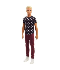 Boneco-Ken-Fashionistas---Black-White---Mattel