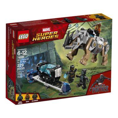 LEGO-Marvel-Super-Heroes---Pantera-Negra---Ataque-Rinoceronte---76099