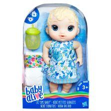 Boneca BabAlive Hora do Xixi Loira E0385 Hasbro
