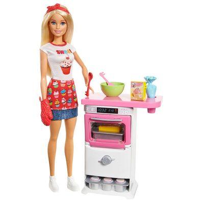 Boneca-Barbie---Cozinhando-e-Criando---Chefe-de-Bolinhos---Mattel