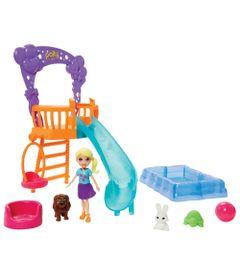 Playset-e-Mini-Boneca---Festa-dos-Bichinhos-no-Jardim---Mattel
