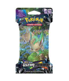 Deck-Pokemon---Blister-Unitario---Sol-e-Lua-Ultra-Prisma---Leafeon---Copag