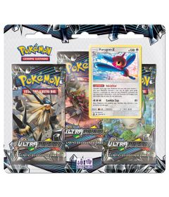 Deck-Pokemon---Triple-Deck---Sol-e-Lua-Ultra-Prisma---Porygon-Z---Copag