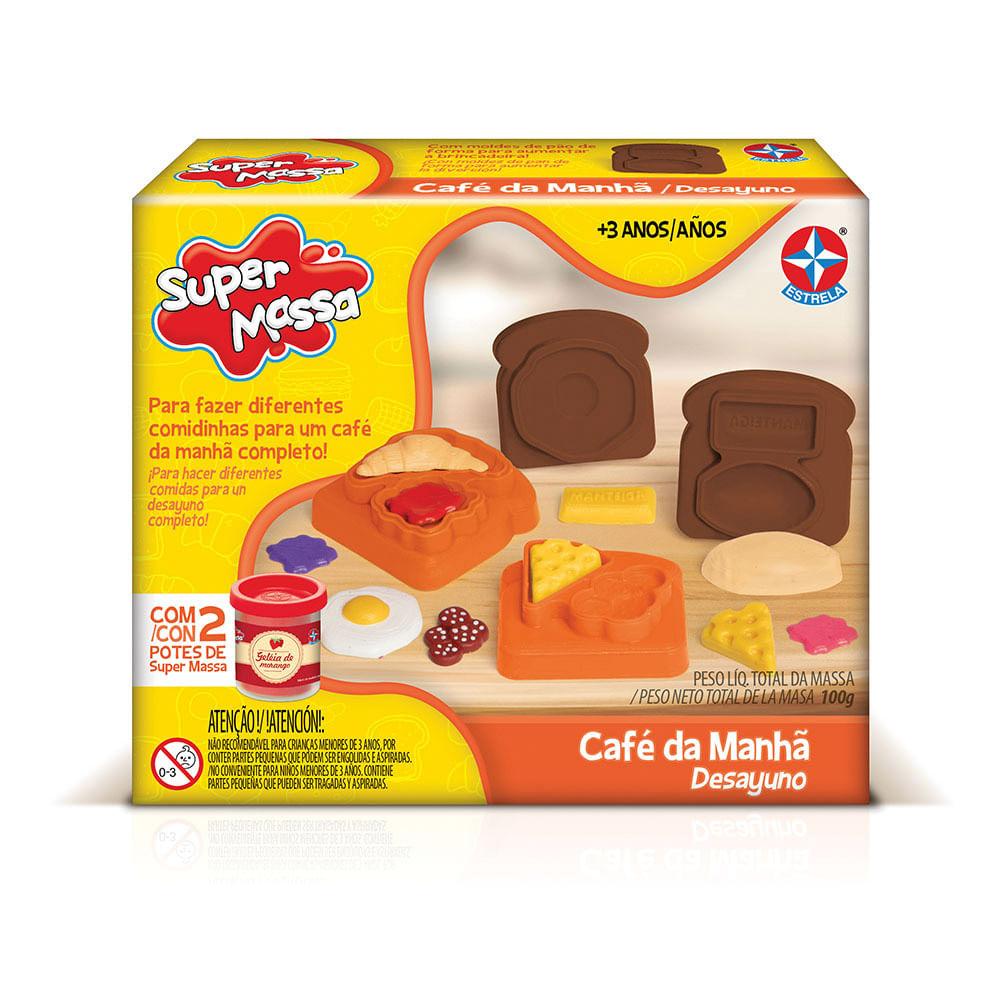 Massa de Modelar - Super Massa - Café da Manhã - Estrela