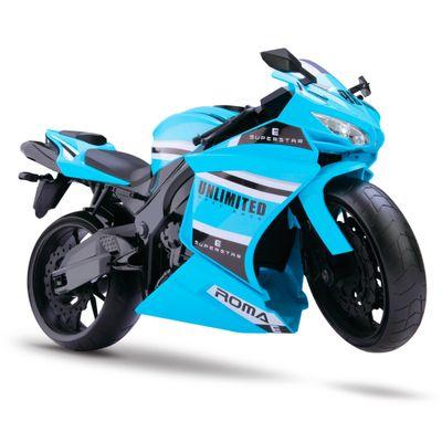 Moto-Rodas-Livres---Roma-Racing-Motorcycle---Azul-Clara---Roma-Jensen