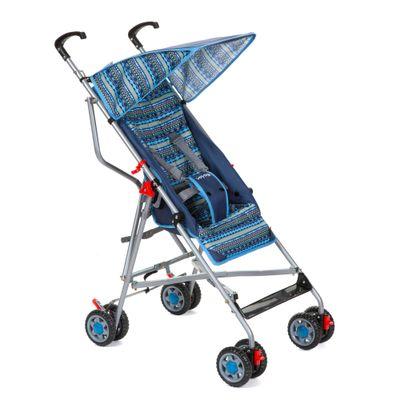Carrinho-de-Passeio---Umbrella----Slim---Azul---Voyage