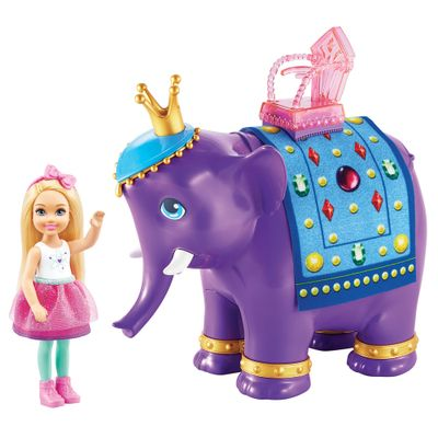 Mini-Boneca-Barbie---Barbie-Chelsea-e-o-Rei-Elefante---Mattel