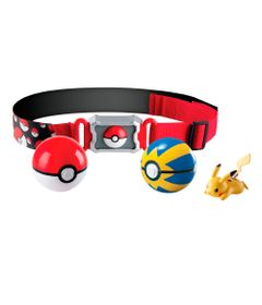 Conjunto-de-Acao---Pokemon---Cinto-Porta-Pokebolas---Picachu-I---Sunny