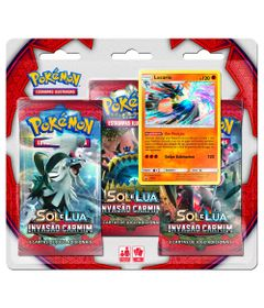 Deck-Pokemon-Triple-Pack---Sol-e-Lua---Invasao-Carmim---Lucario