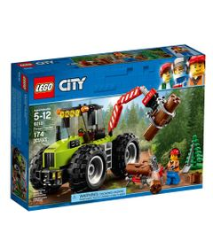 LEGO-City---Trator-Florestal---60181