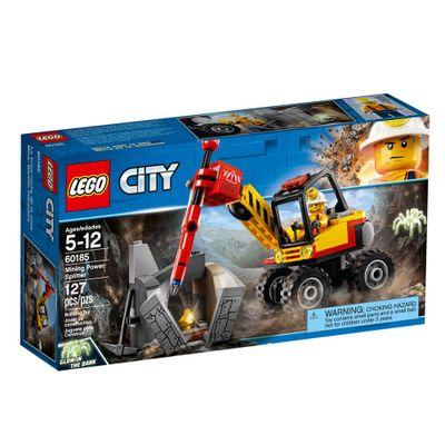 LEGO-City---Veiculo-Mineirador---60185
