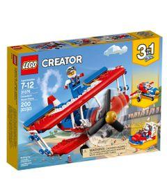 LEGO-Creator---3-em-1---Aviao-Acrobacias-Ousadas---31076