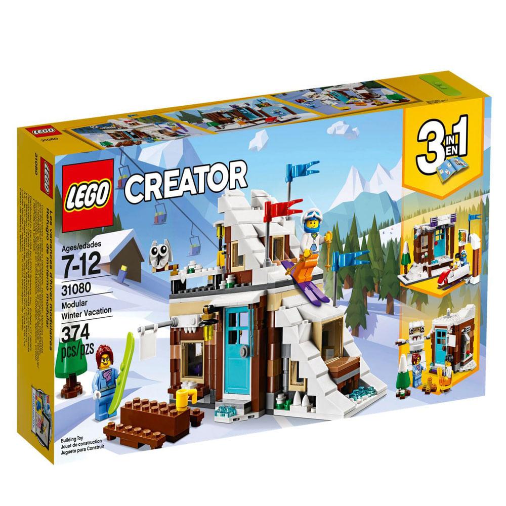 LEGO Creator - 3 em 1 - Férias de Inverno - 31080