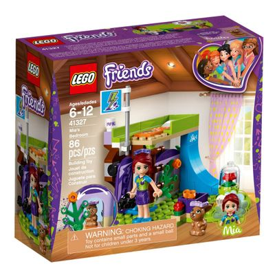 LEGO-Friends---Quarto-da-Mia---41327