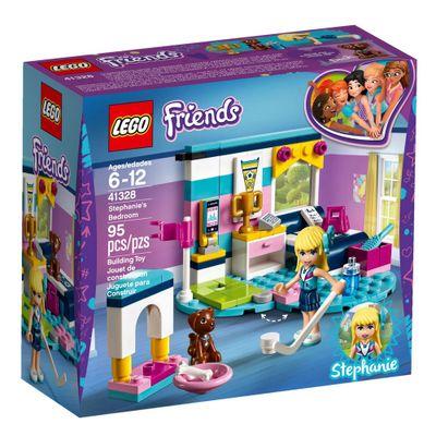 LEGO-Friends---Quarto-da-Stephanie---41328