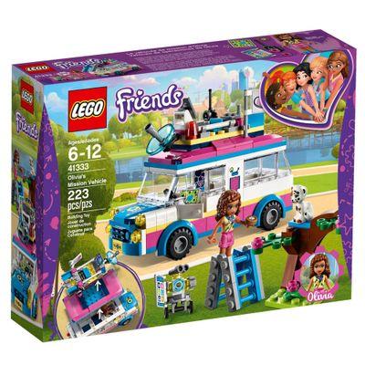 LEGO-Friends---Veiculo-de-Missoes-da-Olivia---41333