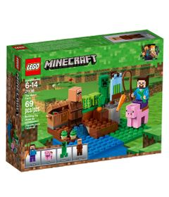LEGO-Minecraft---Fazenda-de-Meloes---21138