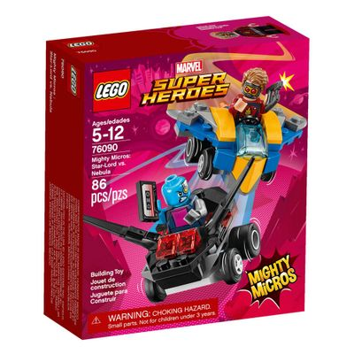 LEGO-Super-Heroes---Disney---Marvel---Star-Lord-Vs-Nebula---76090