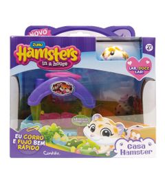 Playset-Casa-Hamster-com-Figura---Hamsters-in-a-House---Lar-doce-Lar---Candide