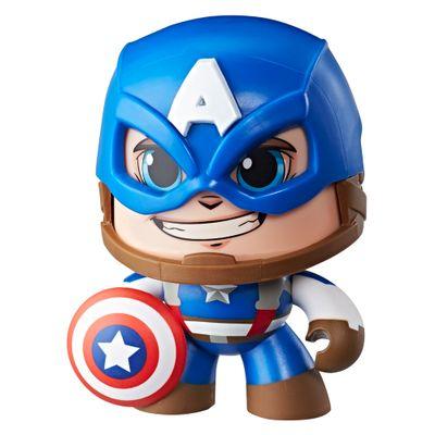 Boneco-de-Acao---Mighty-Muggs---15-Cm---Disney---Marvel---Avengers---Capitao-America---Hasbro