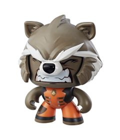 Boneco-de-Acao---Mighty-Muggs---15-Cm---Disney---Marvel---Avengers---Rocket-Raccoon---Hasbro