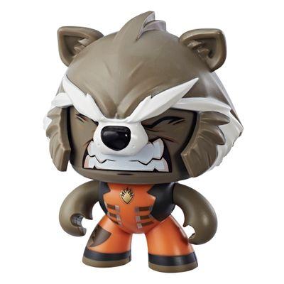 Boneco-de-Acao---Mighty-Muggs---15-Cm---Disney---Marvel---Avengers---Rocket-Raccoon---Hasbro