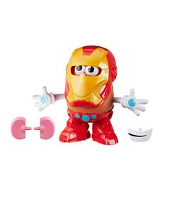 Boneco-Transformavel---19-Cm---Playskool---Disney---Marvel---Mr.-Potato-Head---Iron-Man---Hasbro