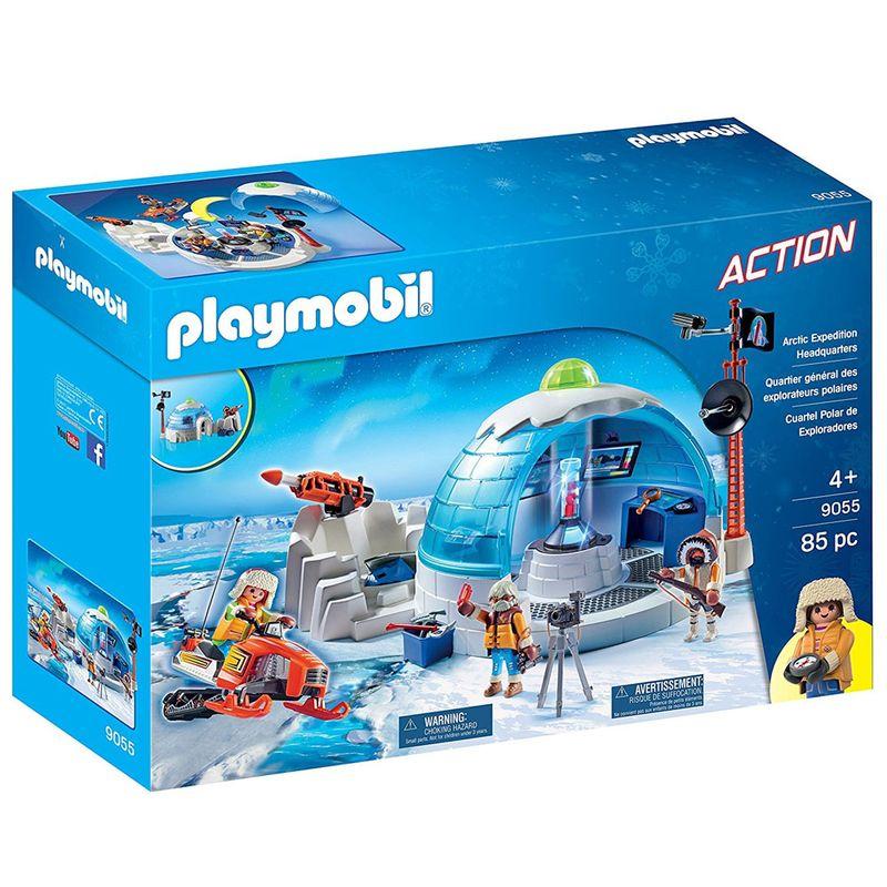 Playmobil - Expedição Ártica - Central de Expedição Polar - 9055 ... 86c2ebb943