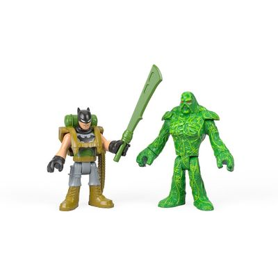 Bonecos---Imaginext-DC-Super-Amigos---Batman-e-o-Monstro-do-Pantano---Fisher-Price