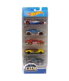 Carrinhos-Hot-Wheels---Pacote-com-5-Carros---City-2018---Mattel