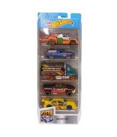 Carrinhos-Hot-Wheels---Pacote-com-5-Carros---HW-Metro-2018---Mattel