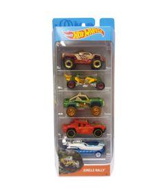 Carrinhos-Hot-Wheels---Pacote-com-5-Carros---Jungle-Rally---Mattel